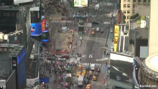 Times Square Live Streaming Webcam, New York City