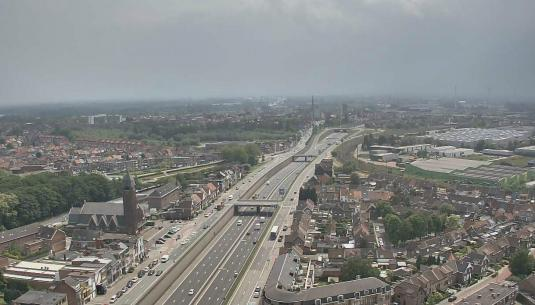 Live Boom City Traffic and Weather Cam, Tower of Braem, Belgium