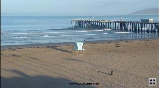 Live Streaming Pismo Beach Cam, California
