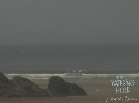 Live Cornwall Streaming Surfing Beach Weather Cam, Perranporth, Cornwall, England