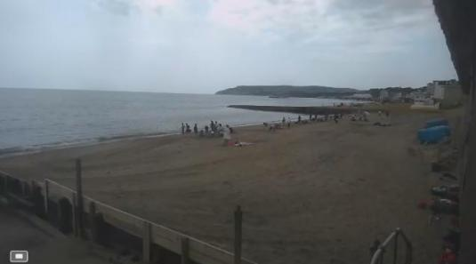 Driftwood Beach Bar Live Streaming Surfing Beach Weather Cam, Sandown Beach, Isle of Wight
