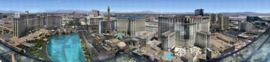 Gigapixel Cam Views Overlooking Las Vegas, USA