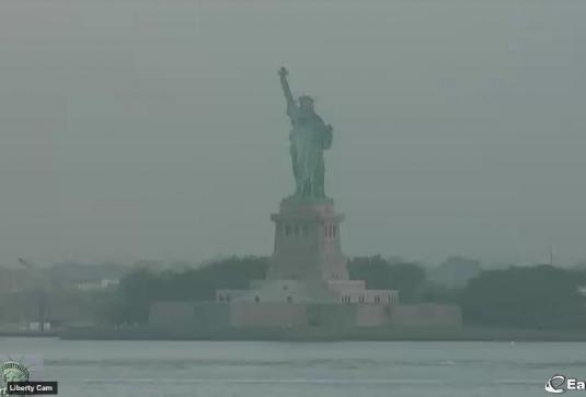 Statue of Liberty Live Streaming New York Cam, NYC, USA