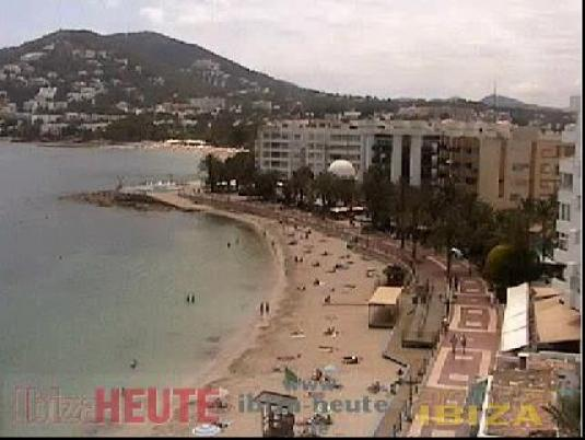 beach ibiza Webcam