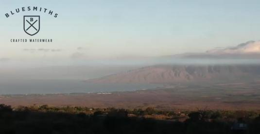 Maui Island Live Streaming Skyline Sunset Weather Cam, Hawaii,