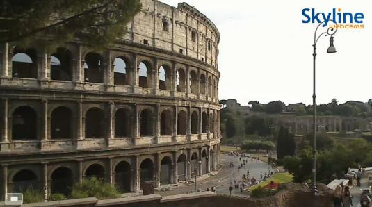 The Colosseum Live Streaming Historical Cam, Rome, Italy