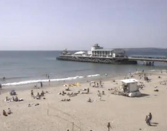 Live Streaming Bournemouth Beach Weather Cam, England