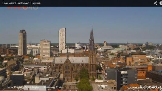 Eindhoven live Streaming Skyline Weather Cam, Holland