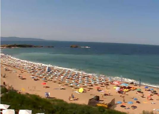 Burgas Live Streaming Black Sea Beach Holiday Weather Cam, Bulgaria