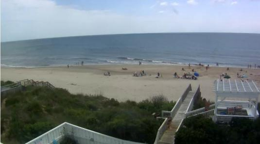 Corolla Beach Live Streaming Beach Surfing Weather Cam, North Carolina