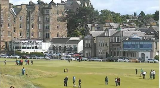 St. Andrews Old Course Live Streaming Golf Weather Cam Fife Scotland