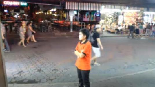 Walking Street Pattaya Live Streaming Bar Cam, Thailand