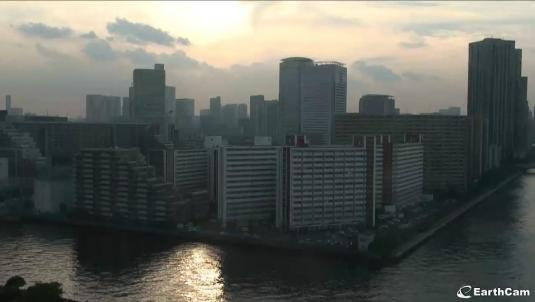 Tokyo Live Streaming City Centre Skyline Weather Cam, Japan