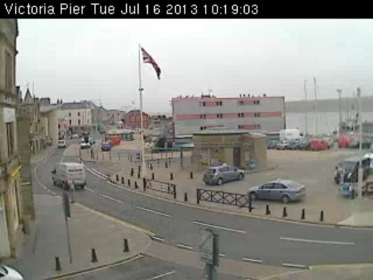 Lerwick Harbour Live Streaming Town Centre Weather Cam, Shetland, Scotland