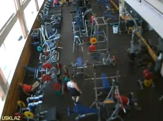 Gym Sports Complex Live Streaming Gym Cam, Lazurniy, Russia