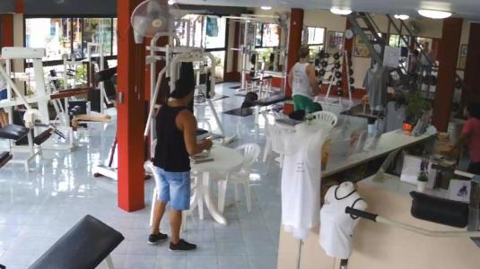Ultra Bodies Gym Live Streaming Gym Sports Cam, Koh Samui, Thailand