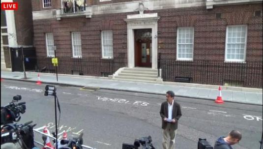 Royal Baby Live St Marys Hospital Streaming Live London Camera