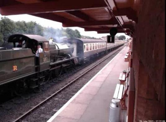 West Somerset Live Streaming Railway Station Cam, Bishops Lydeard