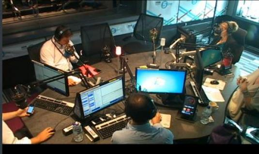 BBC Radio 5 Live Streaming Studio Cam