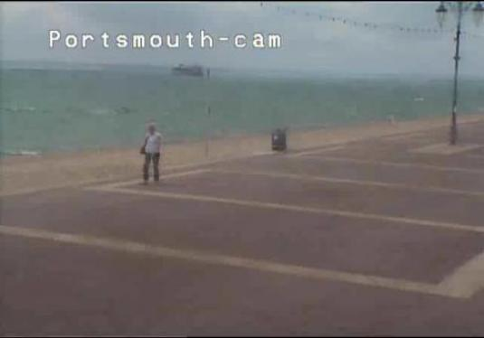 Portsmouth Live Streaming SouthSea Beach Weather Cam, England