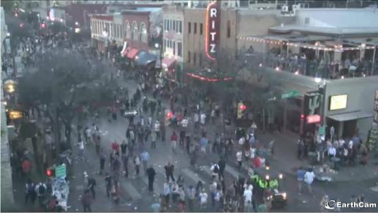 Austin Down Town City Centre Live Streaming Traffic Cam, Texas
