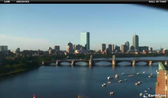 Boston City Centre Live Streaming Weather Cam, Massachusetts, USA