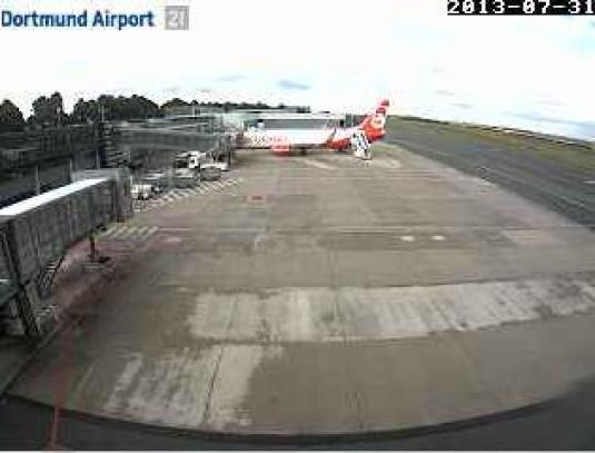 Dortmund Airport Live Streaming Weather Cam, Germany