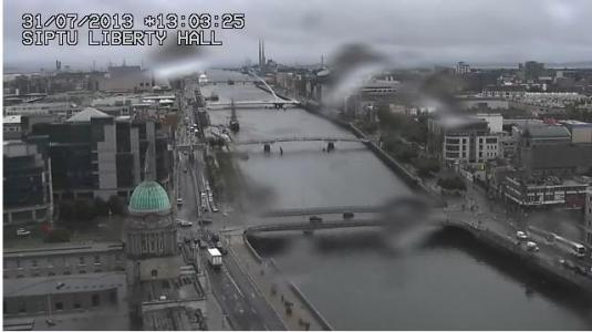 Dublin city Centre live Streaming City Centre Weather Cam, Ireland