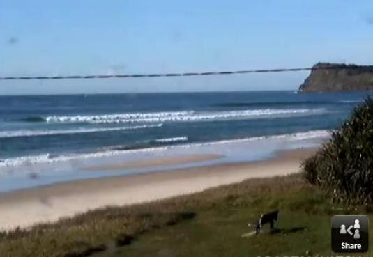 Lennox Head Beach Live Streaming Surfing Weather Cam, New South Wales, Australia