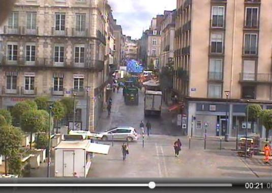 Rennes Live Streaming City Centre Traffic Weather Cam, France
