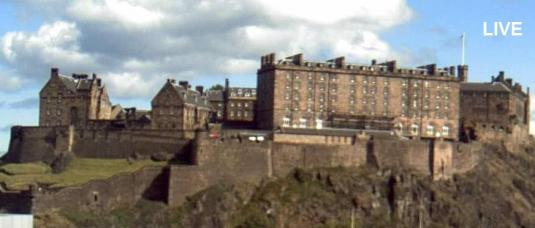Edinburgh Castle Live Edinburgh City Centre Weather Cam, Scotland