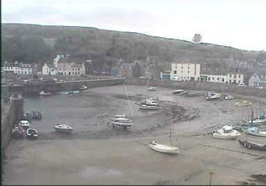 Stonehaven Live Harbour Beach Weather Cam, Scotland