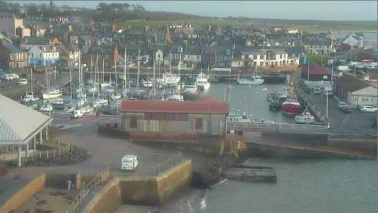 Arbroath Harbour Weather Cam. Arbroath, Scotland