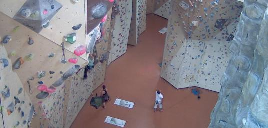 Munich Indoor Rock Climbing Wall Sports Cam, Germany