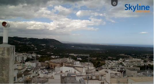 Ostuni City Centre Live Streaming Weather Cam, Italy