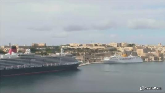 Valletta Live Streaming Harbour Weather Cam, Malta