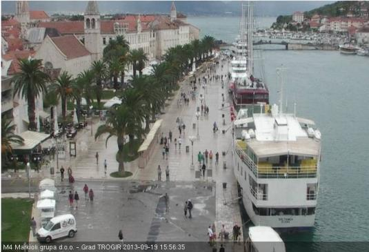 Trogir Harbour Live Streming Weather Cam, Trogir, Croatia