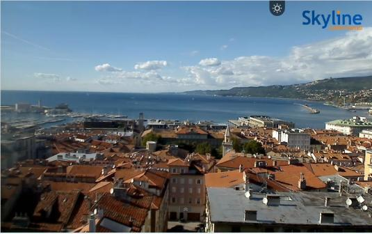 Trieste City Live Streaming Harbour Weather Cam, Italy