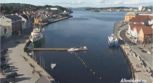 Stavanger City Live Streaming Harbour Weather Cam, Norway