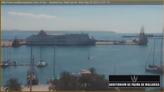 Palma Port Live Streaming Beach Harbour Weather Cam, Mallorca