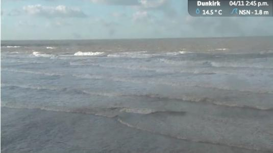 Dunkirk Beach Live Streaming Weather Surfing Cam, France