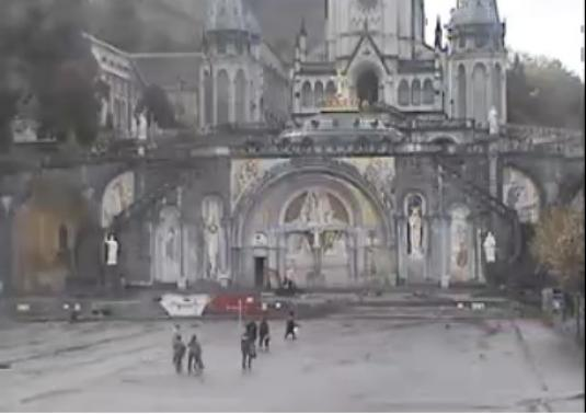 Lourdes Live Streaming Weather Cam, France
