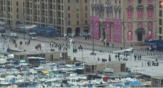 Marseille City Centre Live Streaming Harbour Weather Cam, France