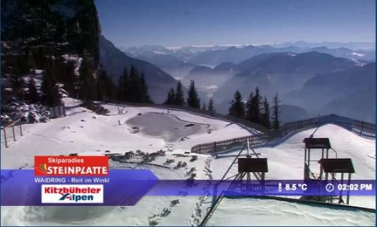 Kammerkor Ski Resort Skiing and Snowboarding Live Streaming Weather Cam, Austria