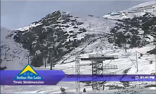 Serfaus Ski Resort Live Streaming Skiing and Snowboarding Weather Cam, Austria