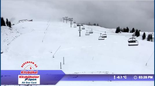 Funpark Hanglalm Ski Resort Live Streaming Skiing and Snowboarding Weather Cam, Austria