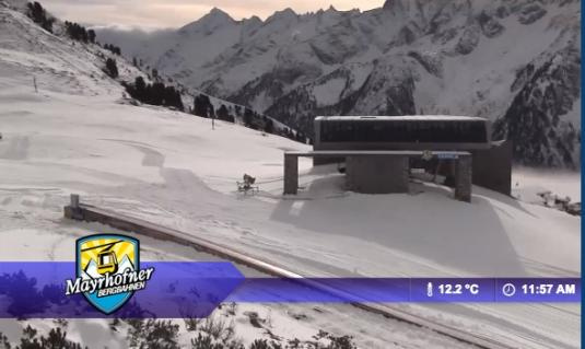 Mayrhofen Ski Resort Live Streaming Skiing and Snowboarding Weather Cam, Austria