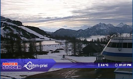 Bergstation Ski Resort Live Streaming Skiing and Snowboarding Weather Cam, Austria