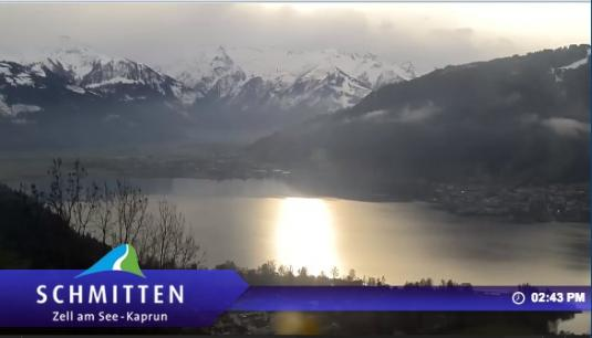 Zell am See Live Streaming Skiing and Snowboarding Weather Cam, Austria