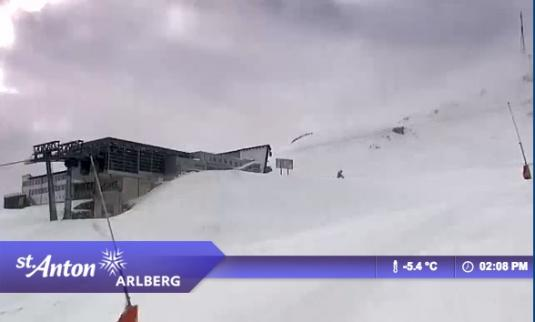 St. Anton am Arlberg Ski Resort Skiing and Snowboarding Streaming Weather Cam, Austria